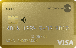 Marginalen Bank Gold kreditkort